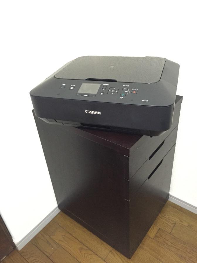 プリンターを買い替えたお【レビュー】【家電】プリンター Canon PIXUS MG6730BK <自営業者・ミニ広報はこれでバッチリ機種!